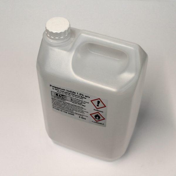Potassium Iodide Solution 5 Litre bottle