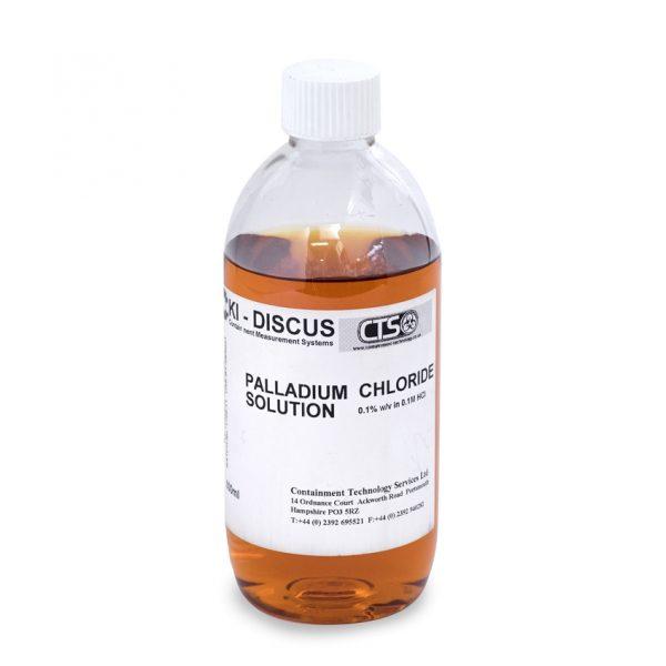 Bottle of Palladium Chloride for the KI-DISCUS Test